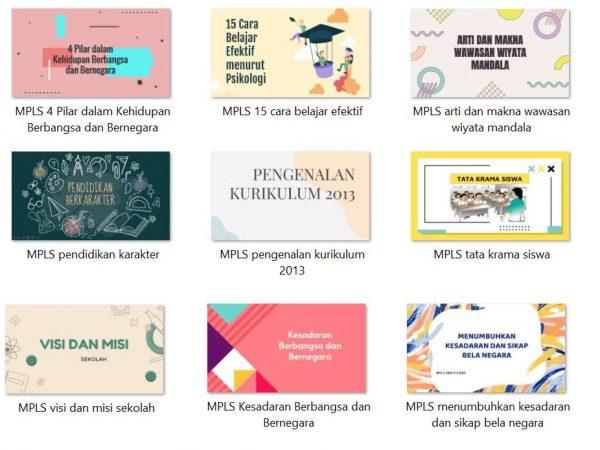 Download 9 Materi Masa Ta'aruf Siswa (MATSAMA) Untuk Siswa Baru Tingkat MI, MTs, atau MA