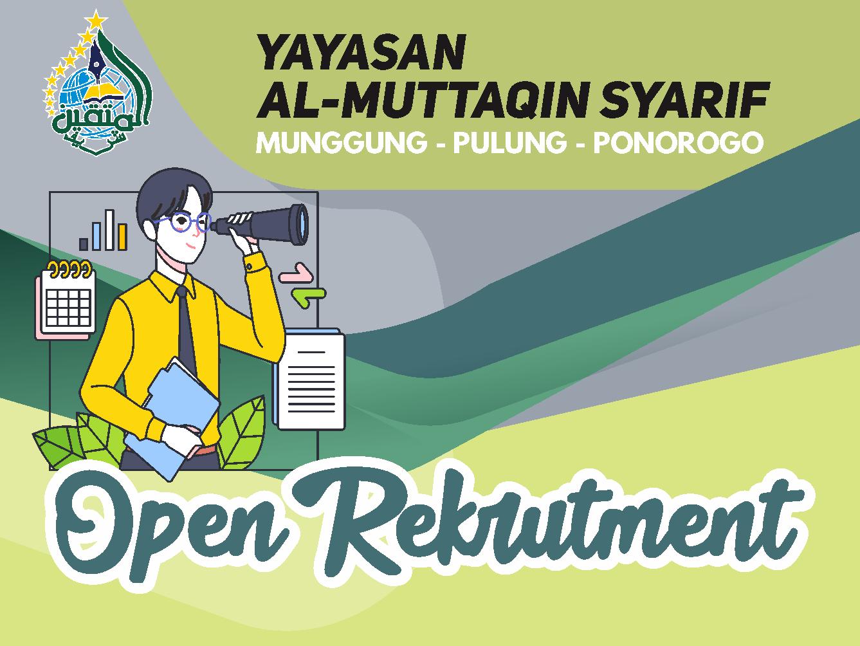 Open Recrutment