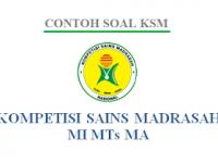 Kumpulan Soal dan KISI-KISI KSM Provinsi dan Pusat Semua Jenjang
