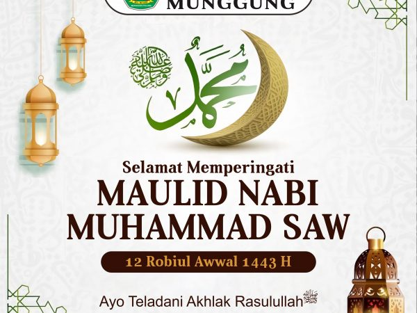 Memperingati Maulid Nabi Muhammad SAW 1443 H